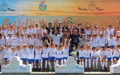 El Campus SUMA pone broche de oro a diez días de fútbol de cantera en Breña Baja