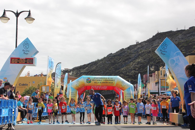 Éxito y récord de participación en la XVII Milla Urbana Breña Baja Mágica