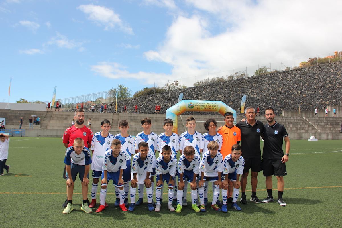 El CD Tenerife se proclama campeón de la  Breña Baja Mágica Cup 2019