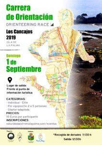 Carrera de orientación Los Cancajos 2019