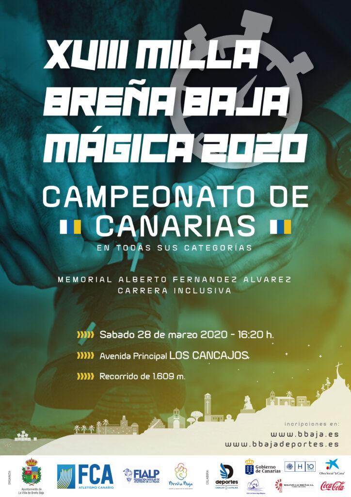 MILLA BREÑA BAJA MÁGICA 2020