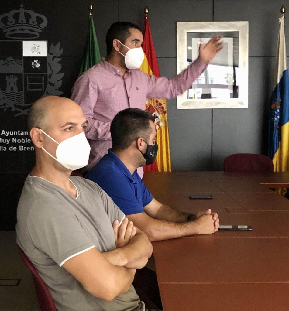 Borja Pérez y Juan Manuel Pérez - Breña Baja - Seguridad frente al Coronavirus - Plan de Contingencias Covid Promoción Deportiva