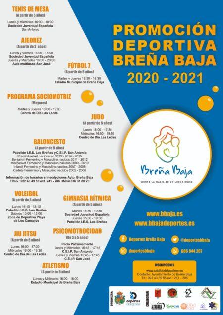 Promoción deportiva Breña Baja 2020-2021