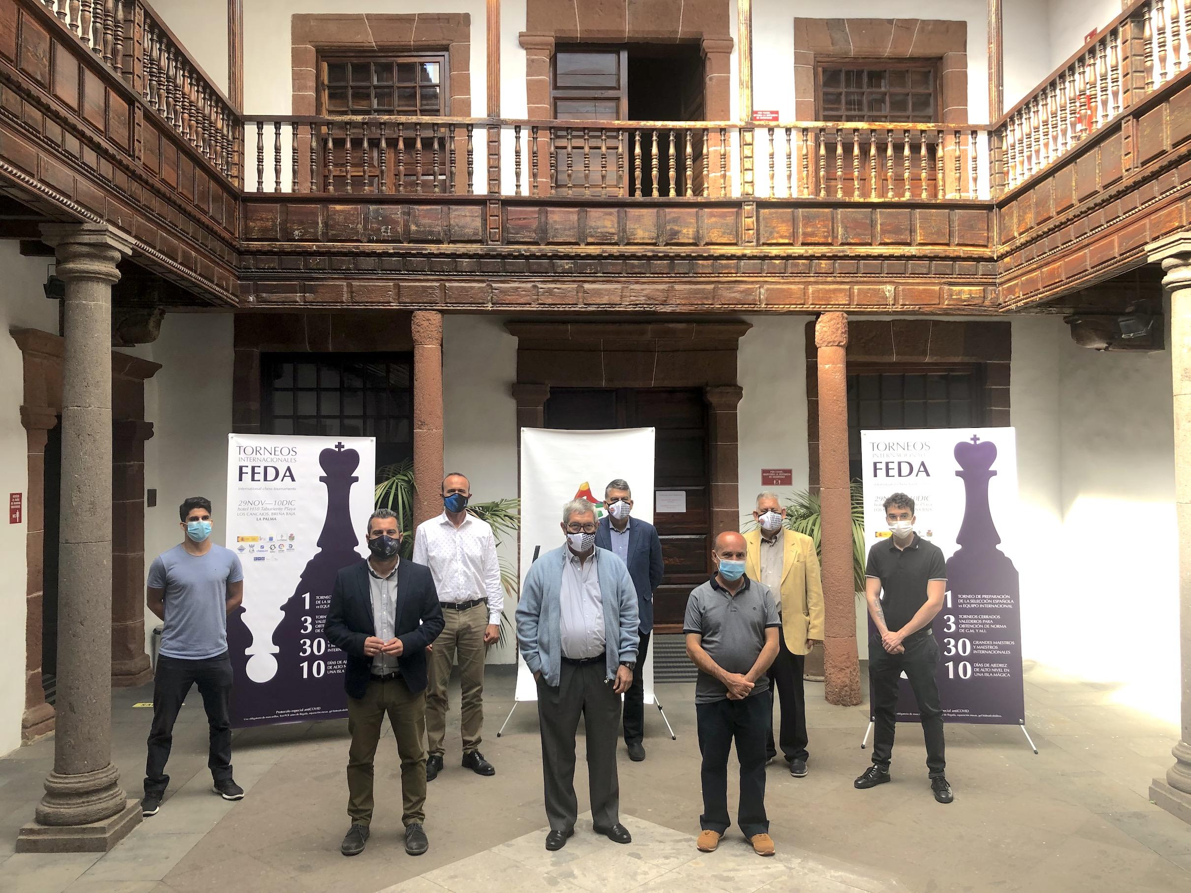 Breña Baja acoge la competición internacional de ajedrez más importante de 2020