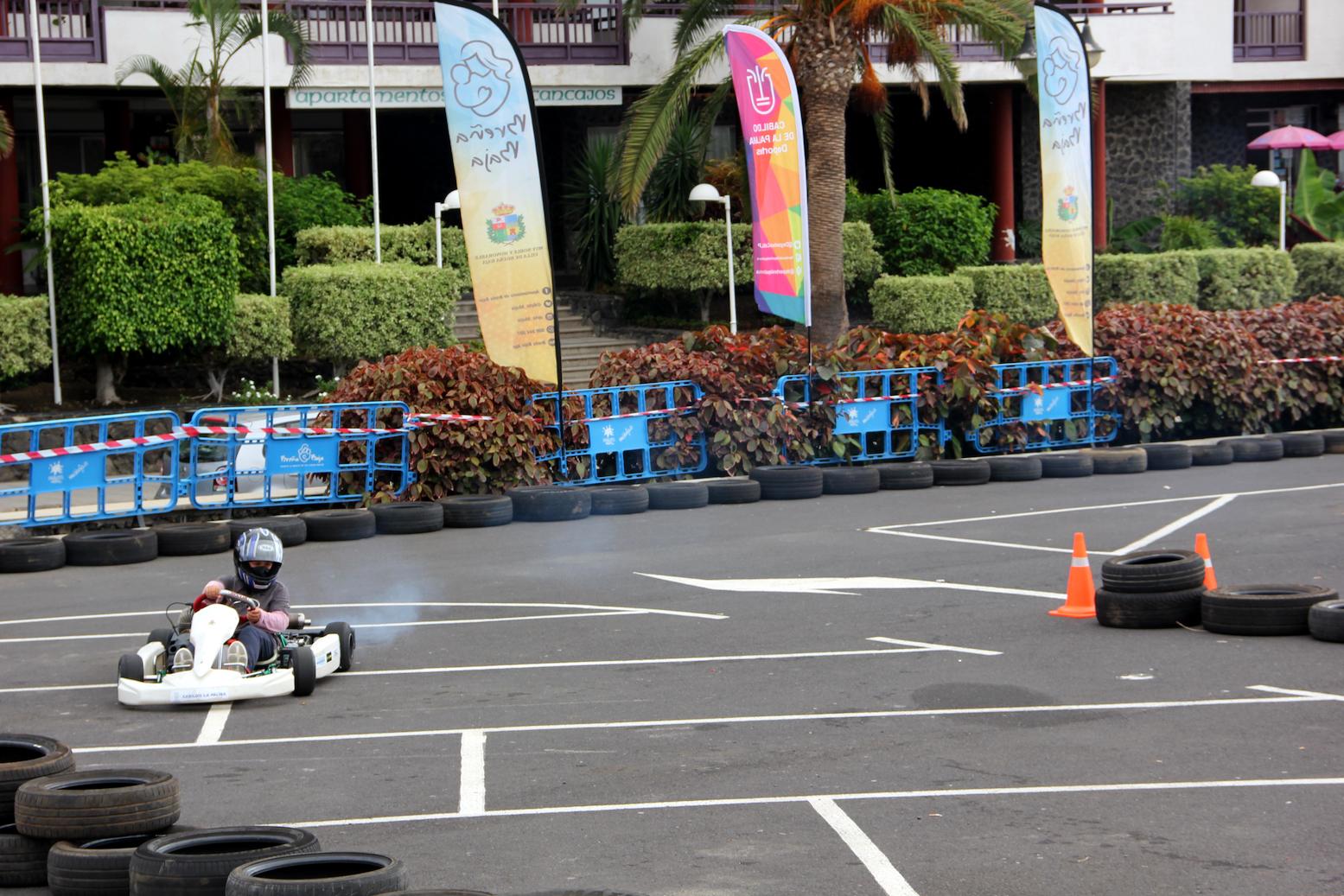 Éxito en el 2º Campus Escuela de Karting La Palma celebrado en Breña Baja