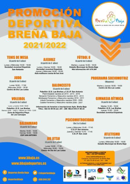 Promoción Deportiva Breña Baja 2021-2022