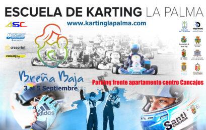 Se pone en marcha la Escuela de Karting La Palma